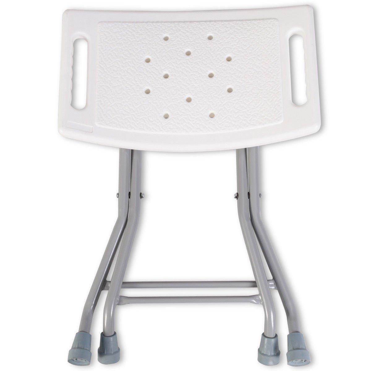 Amazon.com: Silla de ducha plegable y portátil con marco de ...