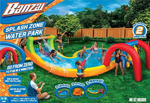 Banzai Splash Zone Water Park (Outdoor Backyard Summer Spring Aqua Splash ()