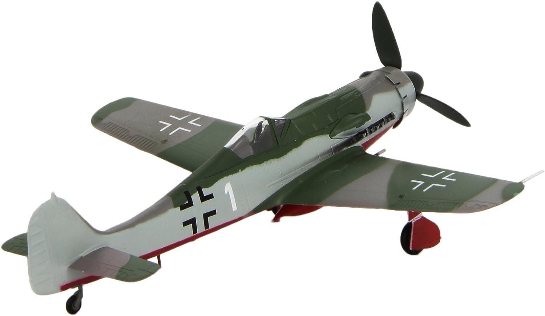 Easy Model Focke Wulf fw190d-9 Dora jv 44 1945 listo modelo 1:72 soporte jg