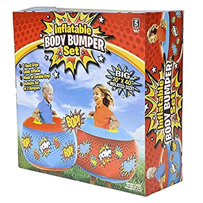 INFLATABLE BODY-BUMPER SET: Toys & Games
