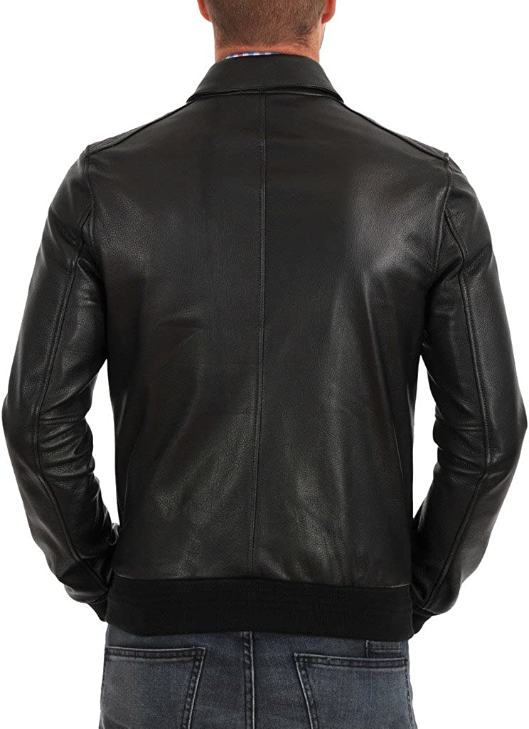 Kingdom Leather Mens Leather Jacket KC147