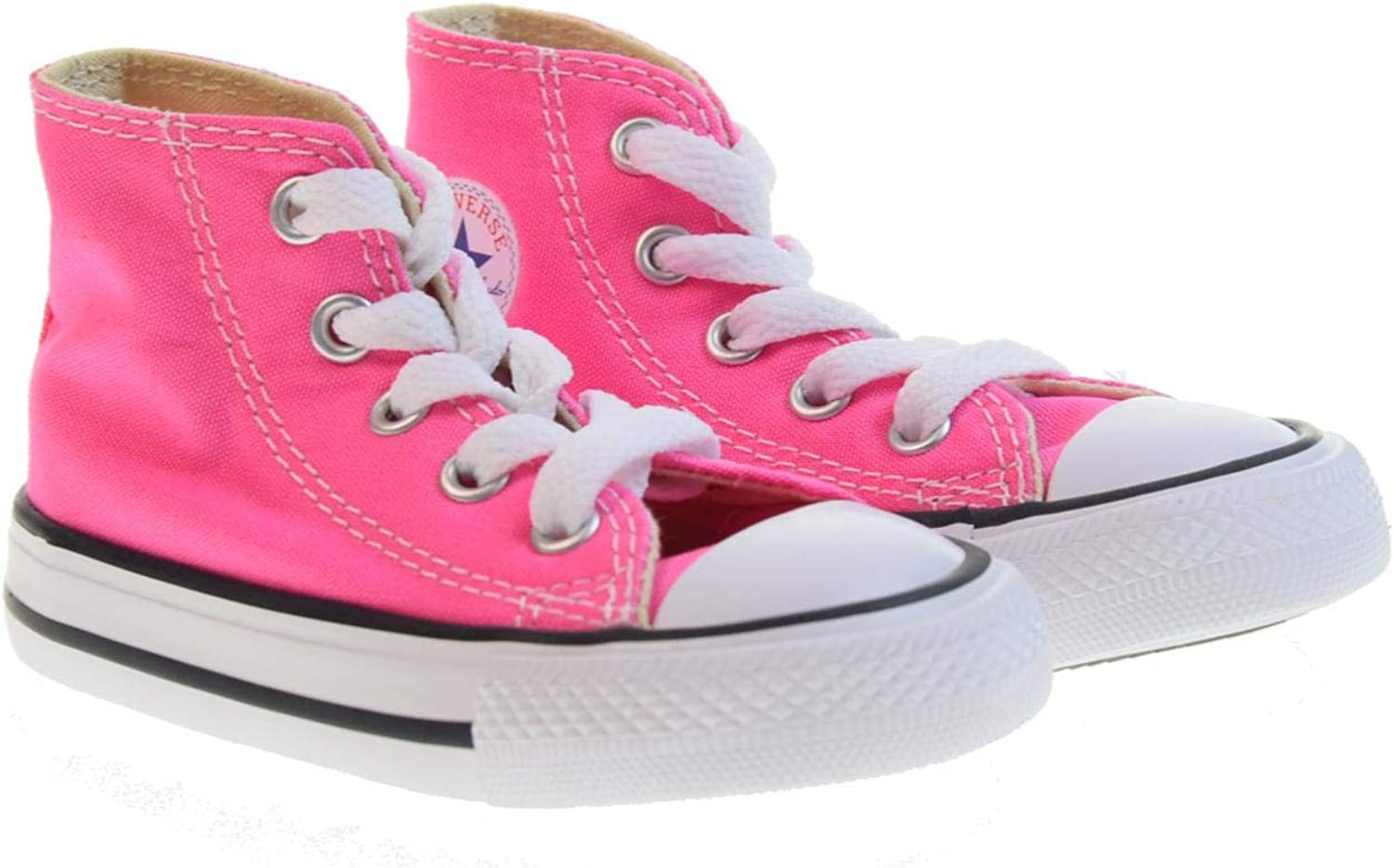 Converse Chuck Taylor All Star Core Hi, Baskets mode mixte Adulte Rose