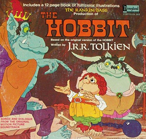 "Price comparison product image The Hobbit - Original Soundtrack - 12"" vinyl LP & book - 1977 Disneyland 3819"