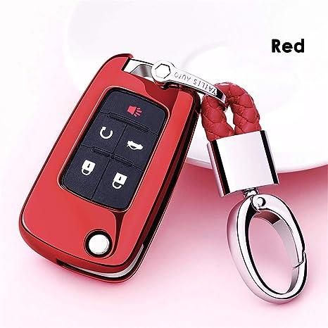 Amazon.com: Carcasa de TPU suave para llaves de Chevrolet ...