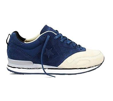 993e4a4e3a2 Converse Men s Malden Racer OX Navy Natural Runner Shoe 144572C (11.0)