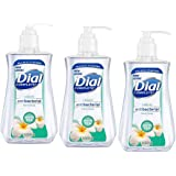 Dial Liquid Soap Anti-Bacterial White Tea 7.5 Ounce Pump (221ml) (Pack of 3)