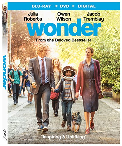 Blu-ray : Wonder (With DVD, Ultraviolet Digital Copy, 2 Pack, , Dolby)