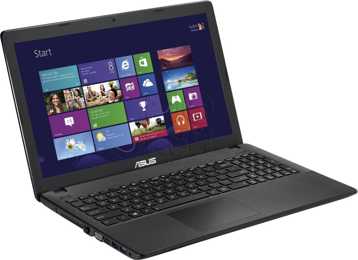Asus X551CA-SX014H 15.6-inch Laptop (Black) with Laptop Bag