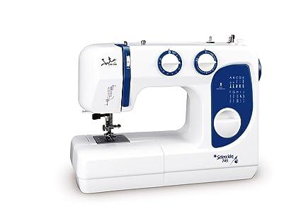JATA MC745 - Máquina de coser (20 diseños de puntada, 11 punt, Flexi