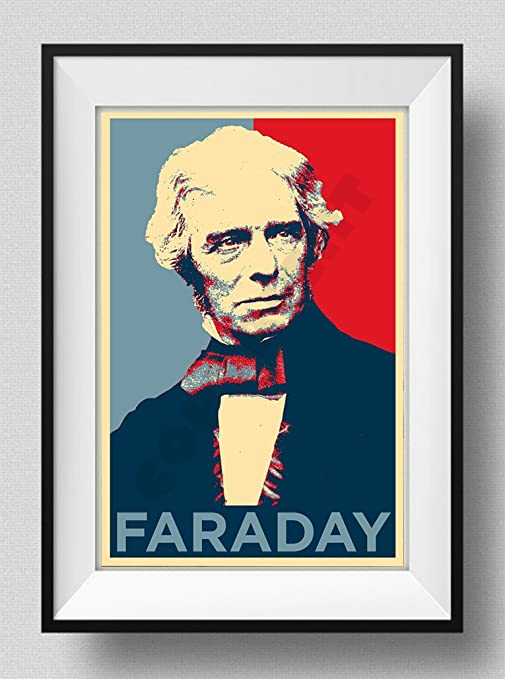 Michael Faraday Art Print /'Hope/' Photo Poster Gift