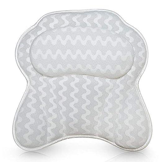 Bath pillow-BeAu Almohada de baño Cojín Antideslizante ...