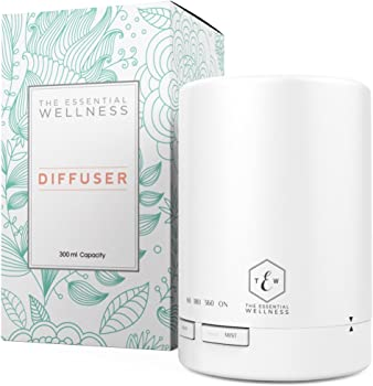 The Essential Wellness Aromatherapy Oil Diffuser