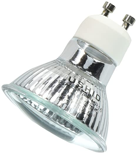 Ushio BC3018 1003303-50W Halogen Light Bulb - MR16 - Pro-Star - Wide Flood - Glass Face - 2, 500 Life Hours - 120V - Bombillas Led - Amazon.com