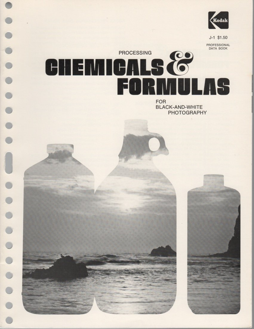 Processing Chemicals and Formulas for Black and White Photography (Kodak publication)
