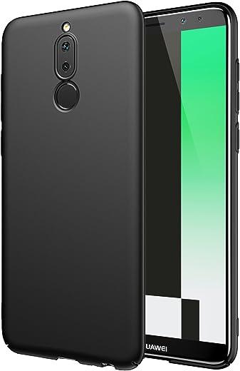 EIISSION Funda Huawei Mate 10 lite, Superficie mate protectora contra caídas ultrafina Funda / carcasa / funda para Huawei Mate 10 lite smartphone, Rojo
