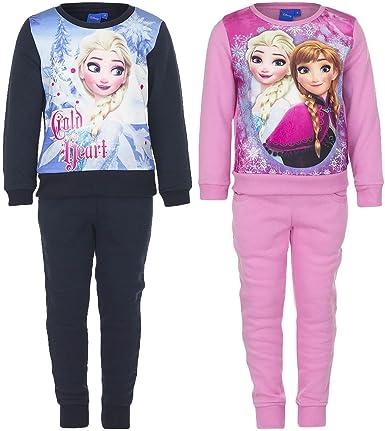 Frozen - Chándal Conjunto Jogging - para niña - APH1539 [Rosa - 4 ...