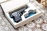 Custom-made Gun Storage for Compact Handguns - Made-to-Order - w/ Magazine Slot - Fits: Glock, Ruger, Springfield, S&W, Colt, CZ, Sig Sauer, Taurus, Kel-tec, Walther