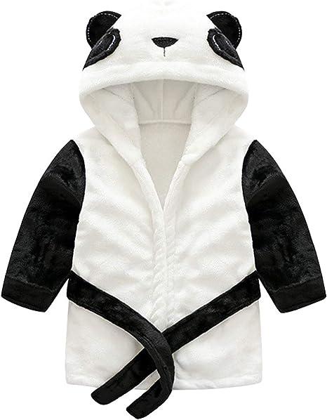 Enfants Peignoir Robe de Chambre Flanelle Pyjamas Gar/çons Filles Chemise de Nuit