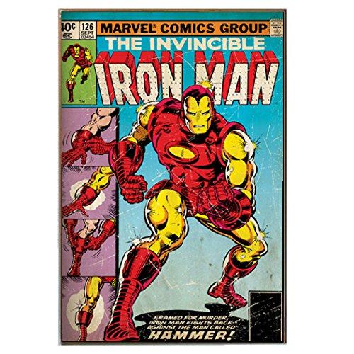 Silver Buffalo MC1536 Marvel Iron Man