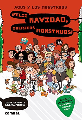 ¡Feliz Navidad, queridos monstruos! (Agus y los monstruos) (Spanish Edition) by Combel Editorial
