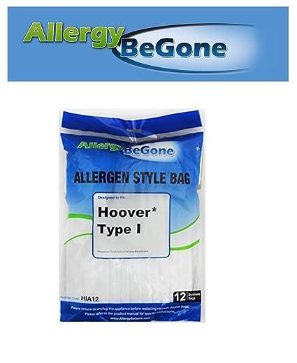 Allergy Be Gone Hoover I - Bolsa aspirador sintetica, pack ...