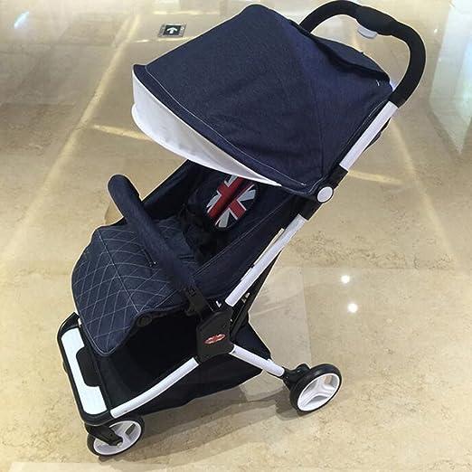 Cochecito de bebé sentado Horizontal Plegable portátil Mini ...