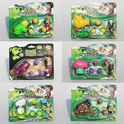 Toy  Play  Fun  6 Styles Selectable Pvz Plants Vs Zombies Figures Toy Coconut Agriculture Gun Peashooter Pvc Figure Toy Model Dolls Great Gift  Children  Kids  Game