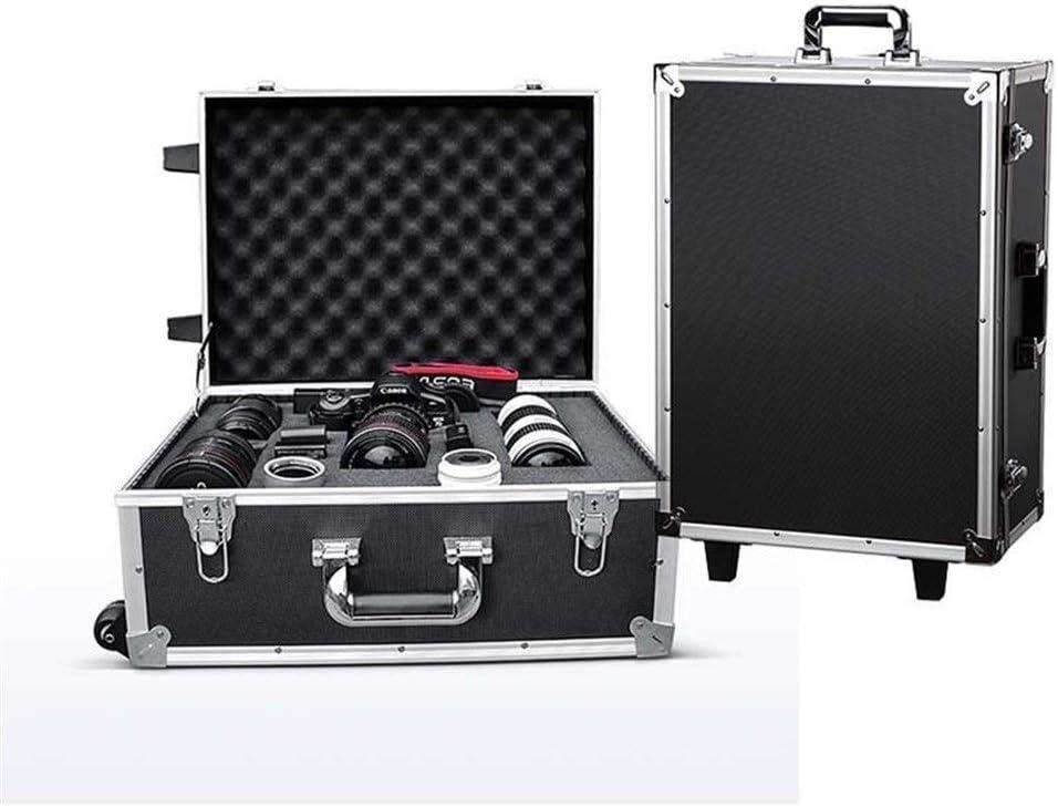 WZC Maleta Rueda Equipo de cámara Caja de herramientas Fotografía ...