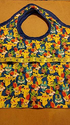 Pokemon yellow tote bag gift bag 14
