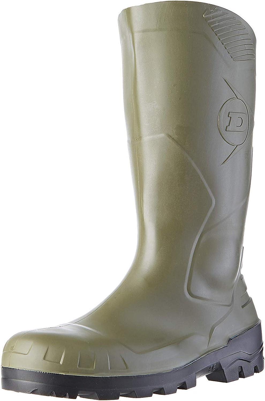 Dunlop S5 H142011 - Botas de seguridad con punta y entresuela de acero para hombre, color Verde, talla 43