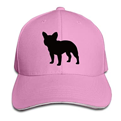 a67af5725b0 French Bulldog Cute Puppy Cap Adjustable Hat Red  Amazon.co.uk  Clothing