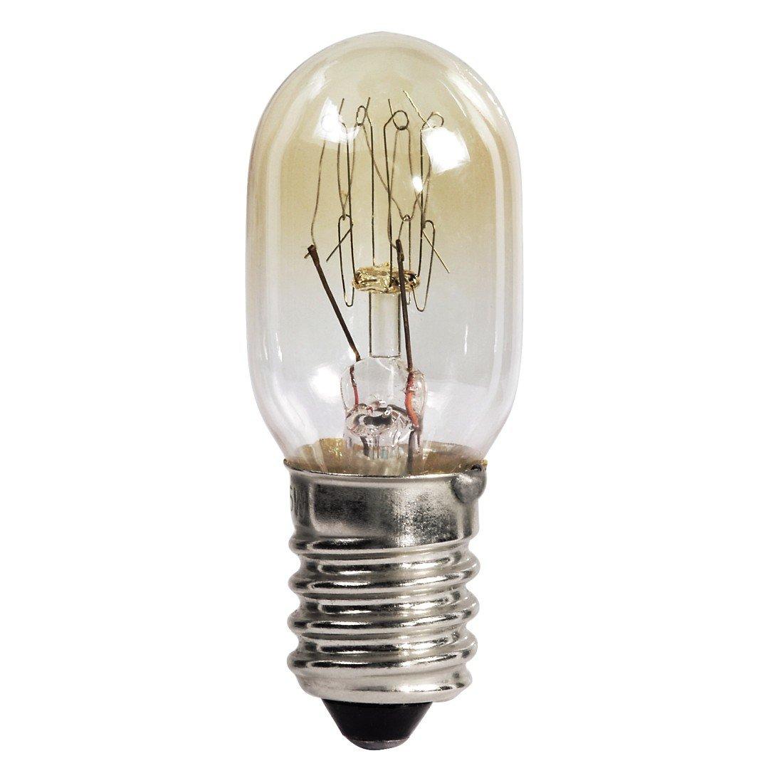 HAMA Lampadina per forno 25 W, 300° , E14, a pera, Colore Trasparente 300° Xavax 110838