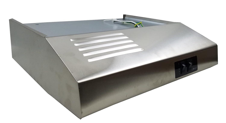 "20"" Stainless Steel Ductless / Recirculating RV Range Hood (12 Volt DC)"
