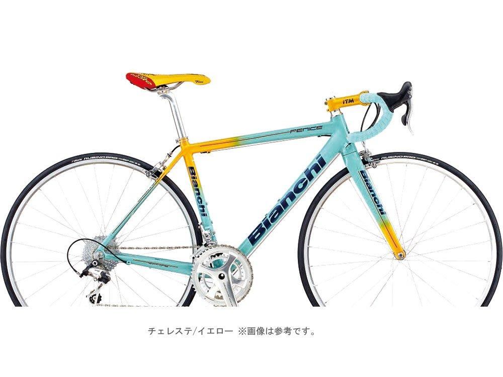 BIANCHI(ビアンキ) CYCLE 2018 FENICE PRO 105(2x11s)ロードバイク チェレステ/イエロー B0755D542F 53