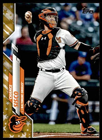 Amazon.com: 2020 Topps Gold Stars Baseball #187 Chance Sisco ...