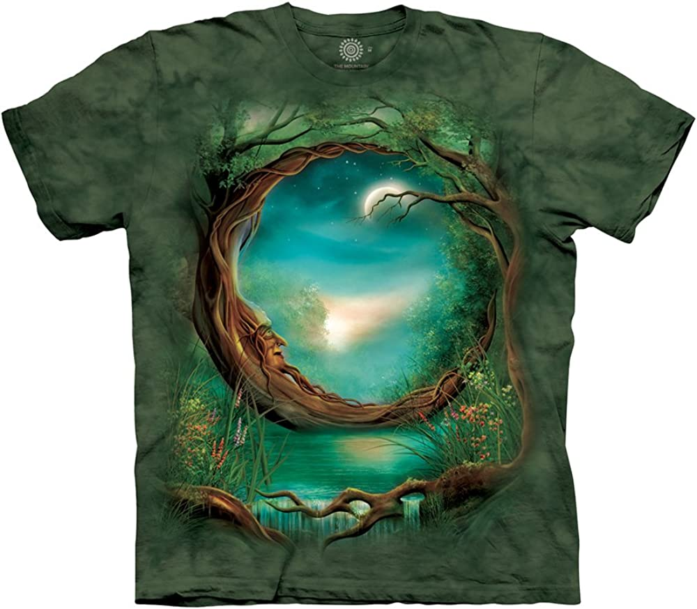 The Mountain Flight of The Shaman Adult T-Shirt