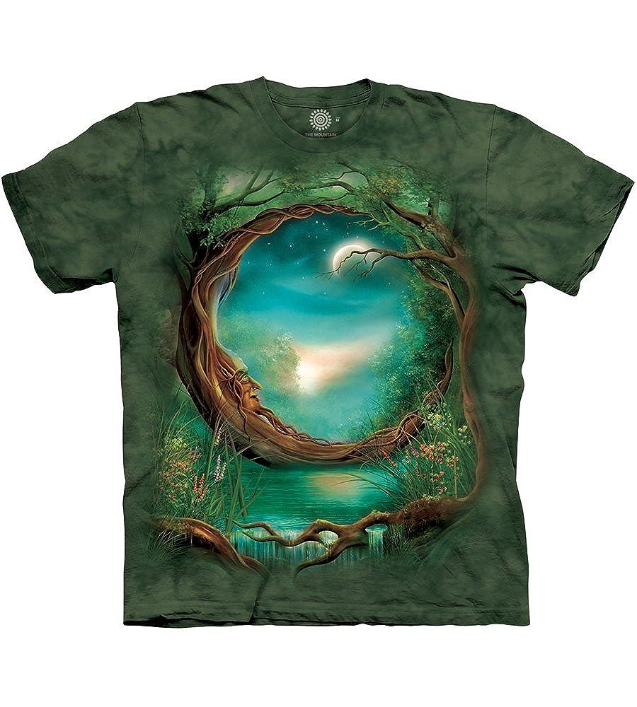 The Mountain Maglietta Moon Tree Fantasy Adulto Unisex