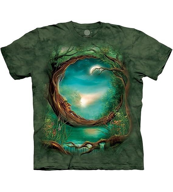 Amazon.com: Luna Árbol playera: Clothing