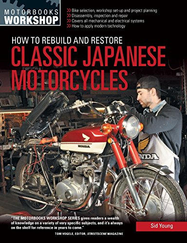 How to Rebuild and Restore Classic Japanese Motorcycles (Motorbooks Workshop) - Antique Racers