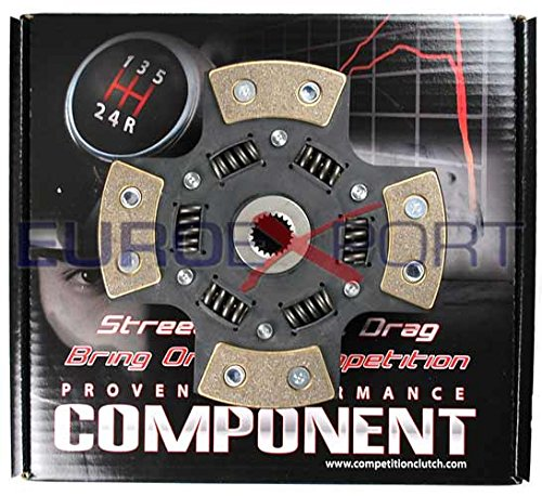Competition Clutch 4 Puck Sprung Clutch Disc for Honda 1.6L B16 1.8L B18 2.0L B20 99785-1420