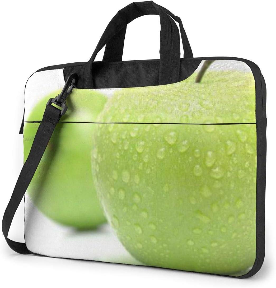 Cyan Fruit Printed Laptop Shoulder Bag,Laptop case Handbag Business Messenger Bag Briefcase