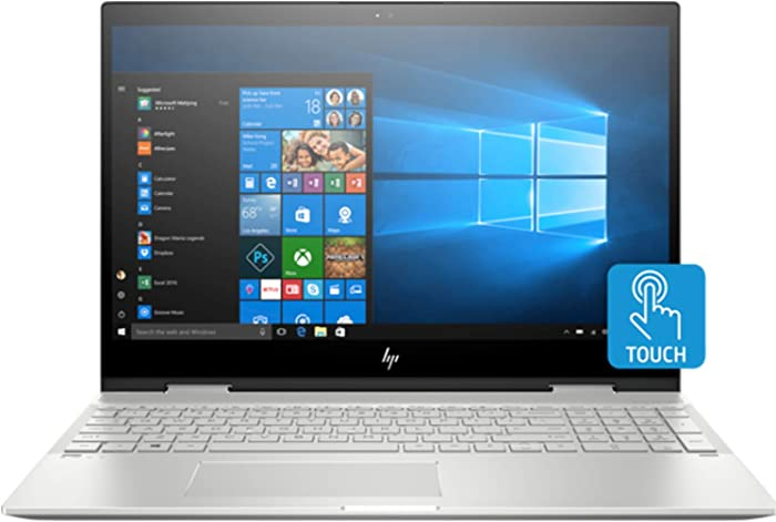 "HP Envy x360 15t-cn100 (5GM30AV) 2-in-1 convertible 15.6"" FHD IPS Touch-Screen Laptop - Intel Core i7-8565U, 8GB Memory, 256GB SSD, HP Pen included"