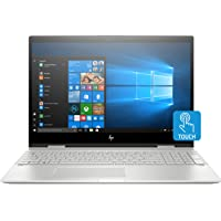 "HP Envy X360 15t Convertible 2-in-1 Premium Home and Business Laptop (Intel 8th Gen i7-8550U Quad-Core, 16GB RAM, 1TB HDD + 128GB Sata SSD, 15.6"" FHD 1920x1080 Touchscreen, HP Pen, Win 10 Home)"