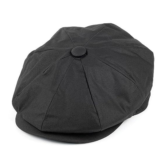 Jaxon  amp  James cappello da strillone in tela cerata – nero Black Small 21ab6184d31b