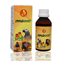 Pet Care International (PCI) ImmuBoost to Provide Essential Vitamins for Healthy Bird Healthcare (100ml)