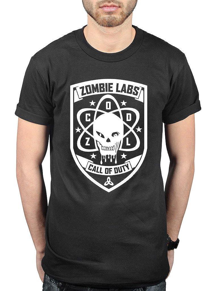 AWDIP Officiel Call of Duty Black Ops 3Zombie Labs T-Shirt pour Console de Jeu vidéo