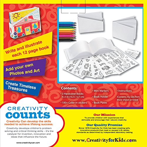 Creativity for Kids Create Your Own Books