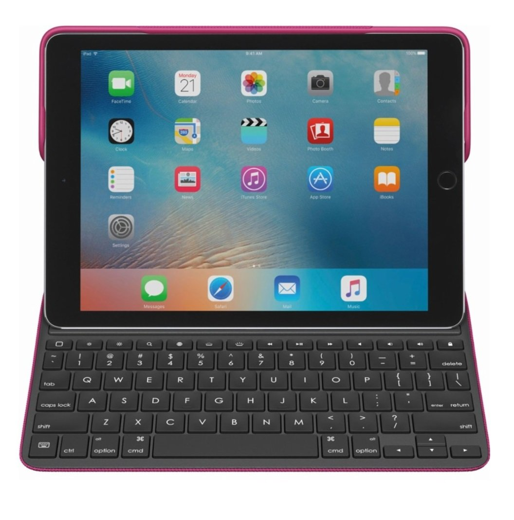 Logitech Create: Backlit Wireless Keyboard with Smart Connector For iPad Pro 9.7'' (Plum) by Logitech (Image #2)