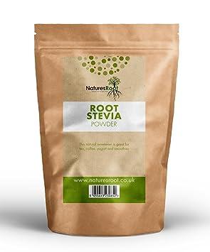 Natures Root Premium polvo de hoja verde de stevia – Edulcorante sostituivo  dello Azúcar | sano & Natural | cero calorías 250g