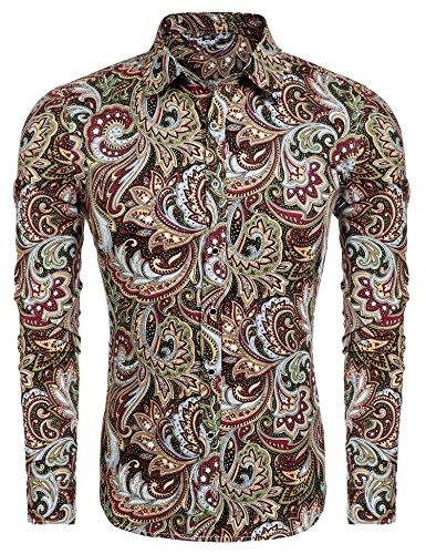 Rose Button Up Shirt - 7